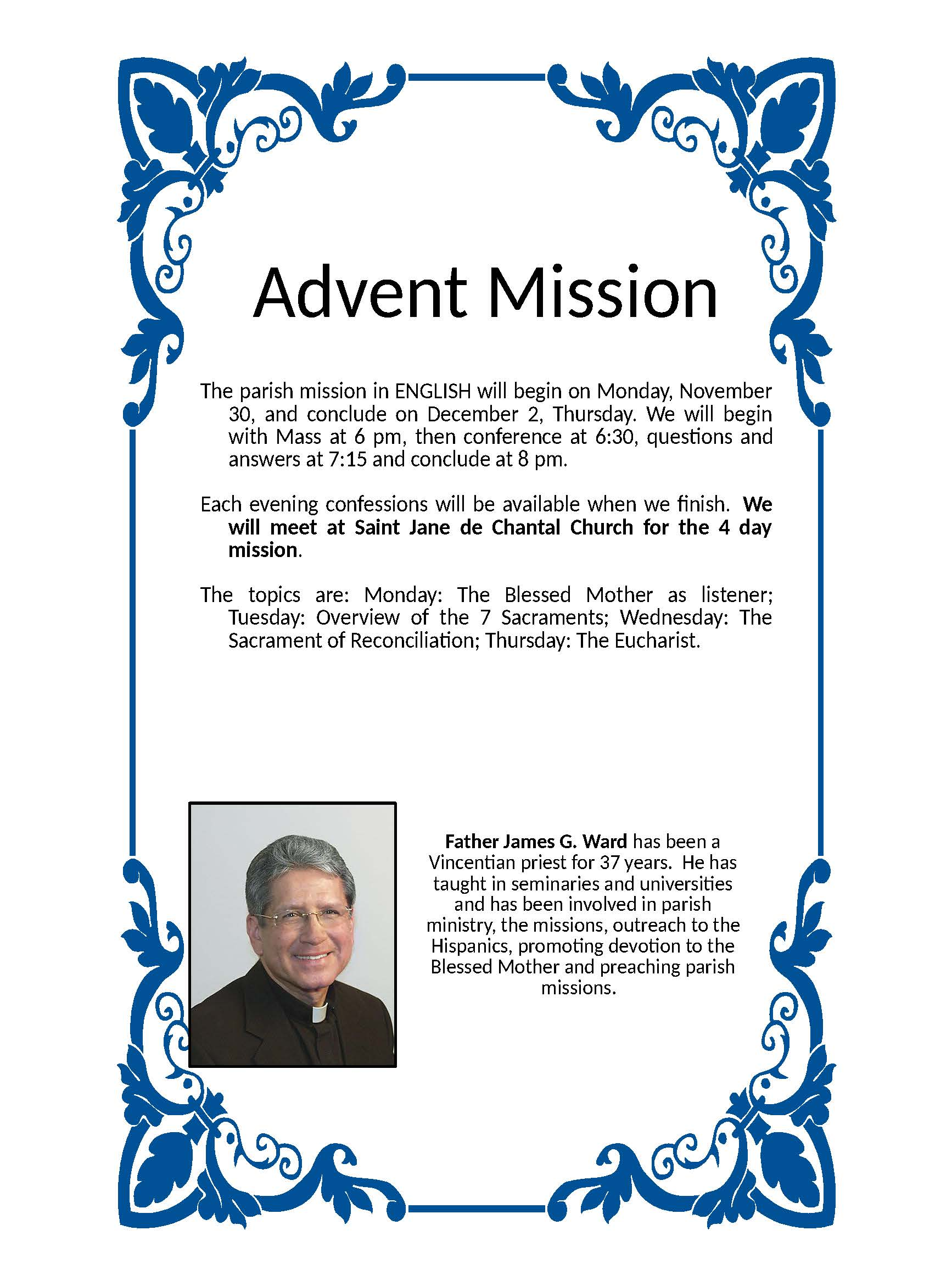 Advent Mission