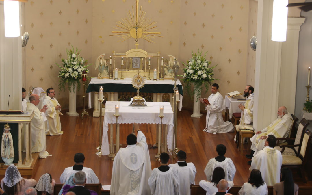 Congratulations to Fr. Angel Diaz!