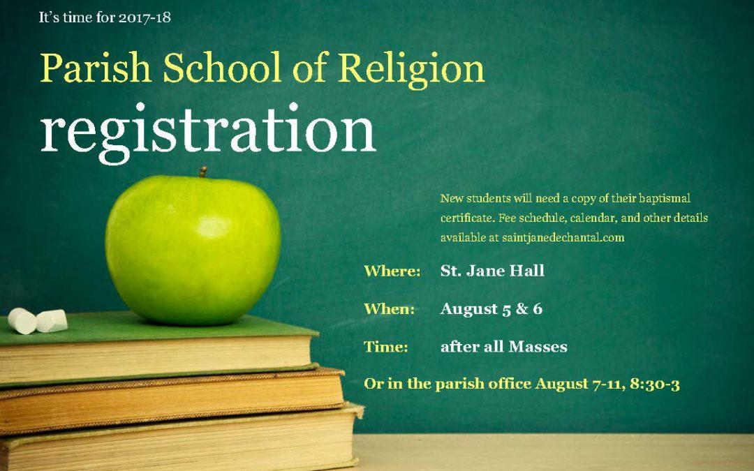 PSR Registration Time!