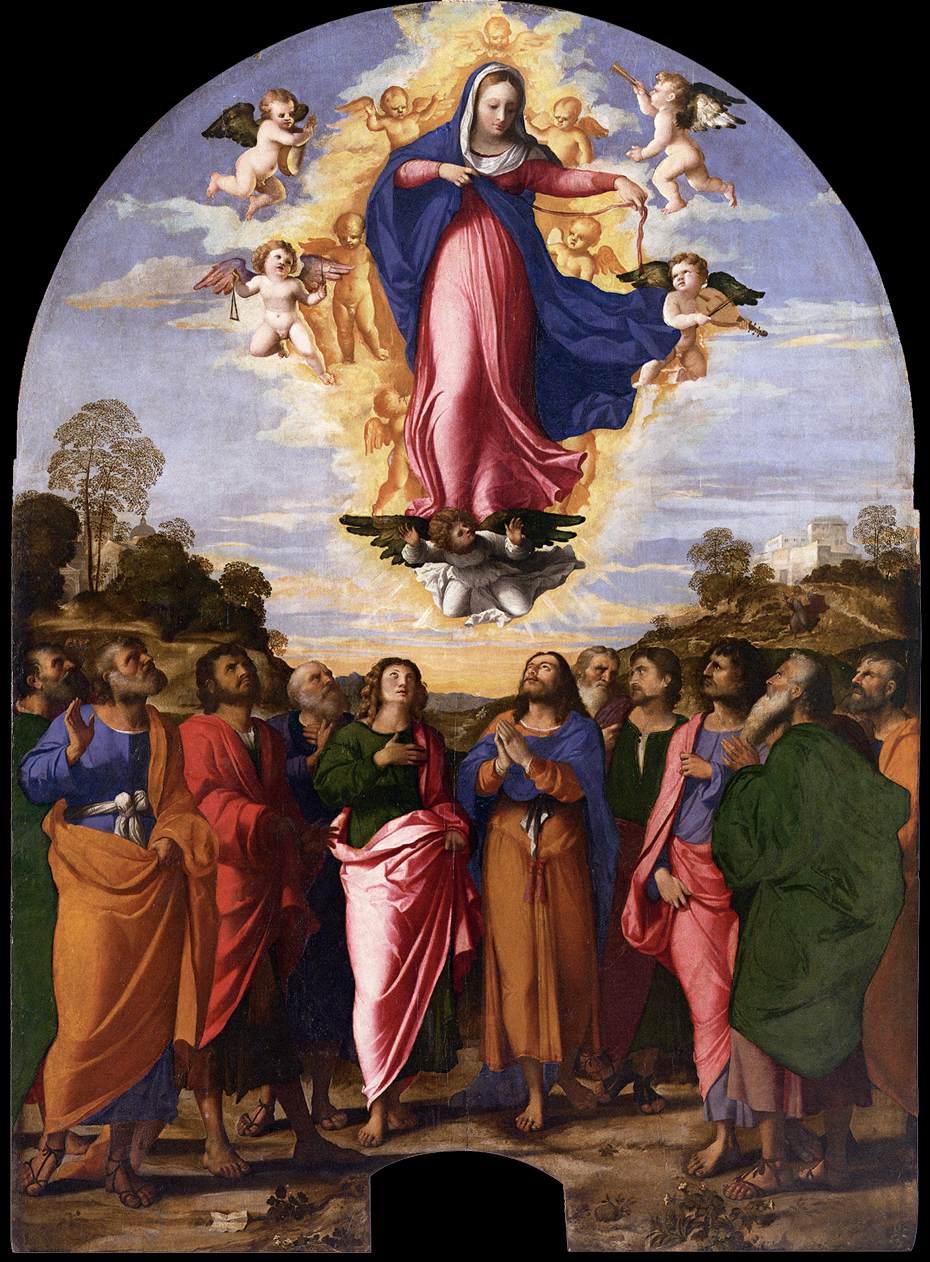 Palma Il Vecchio - The Assumption of Mary