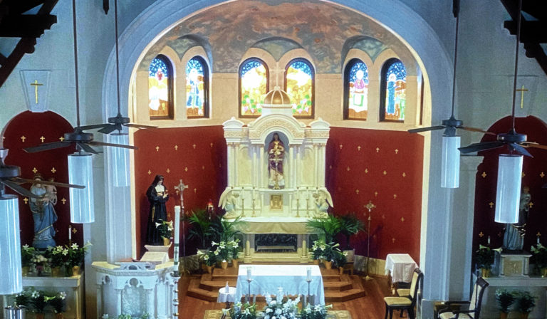 sanctuary during Eastertide